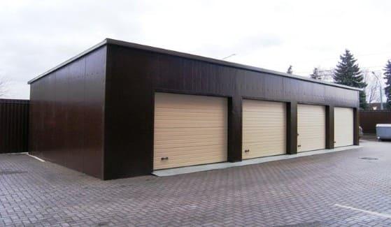 Красивый гараж внутри