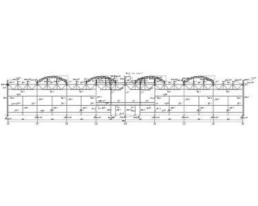 Каркас складского комплекса