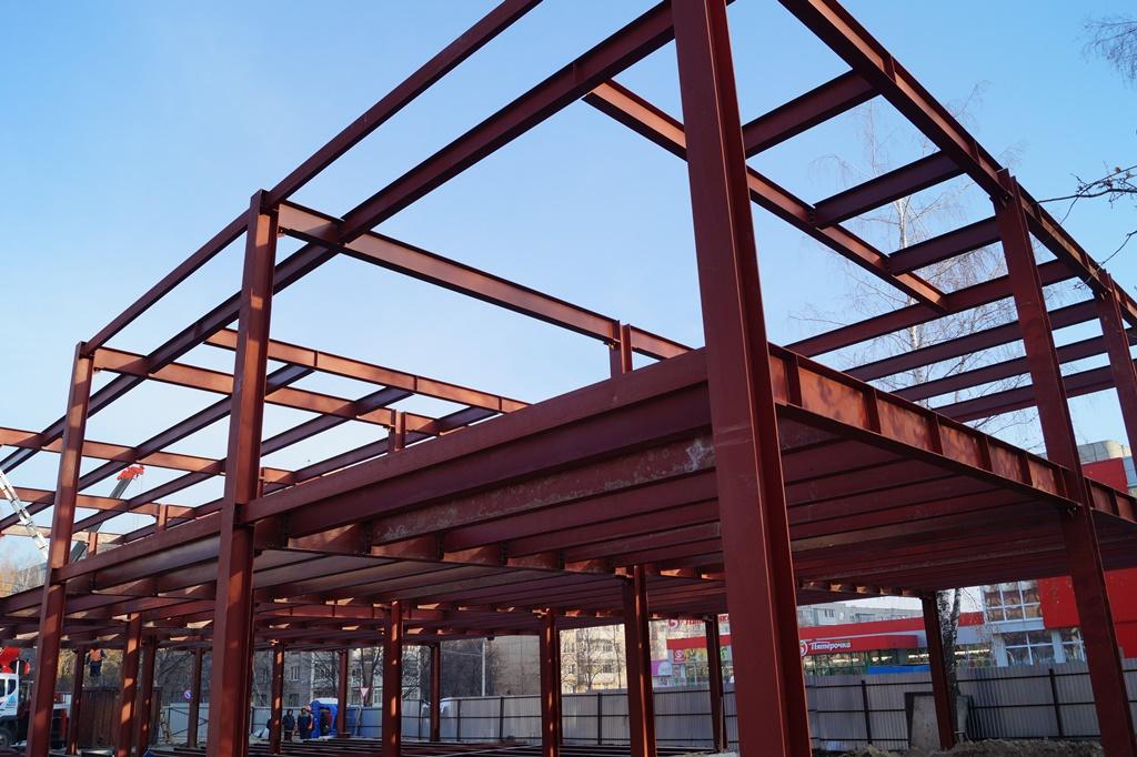 Строительство офисного центра