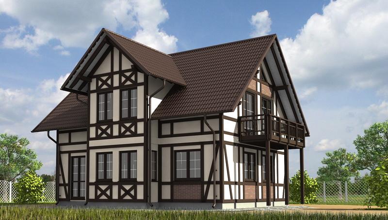 Фасады немецких домов фото