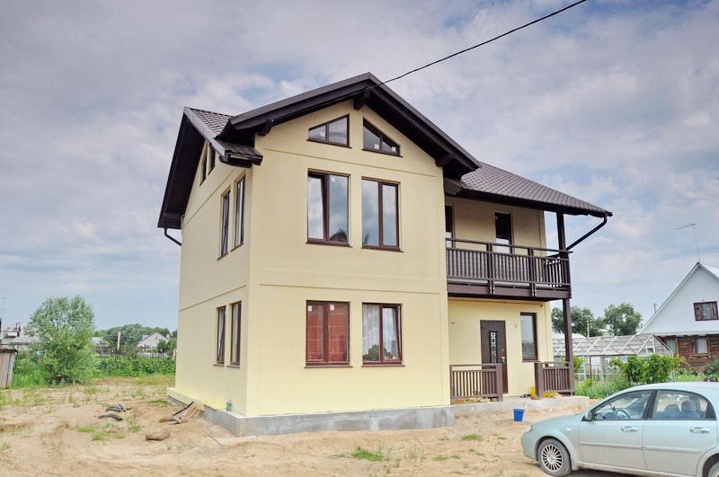 Готовые дома фото