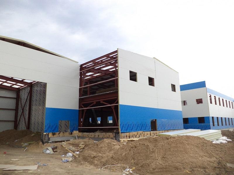 Сооружение вертолетного центра